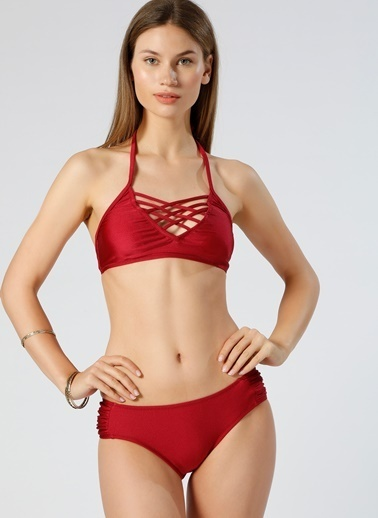 Limon Company Bikini Alt Bordo